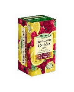 Herbata malinowa z cytryną - 20 torebek