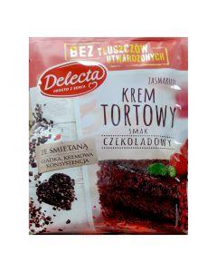 Delecta Krem Tortowy o smaku czekoladowym-100g