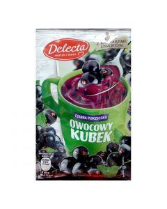 Delecta Owocowy Kubek czarna porzeczka -30g