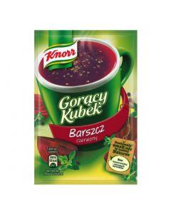 Knorr Goracy Kubek barszcz czerwony-17g