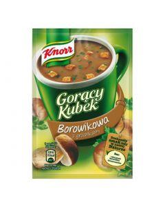 Knorr Goracy Kubek Borowikowa z grzankami-17g