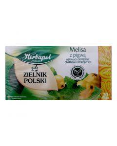 Herbapol Melisa z pigwą-20 torebek