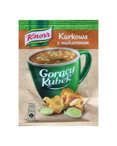 Knorr Goracy Kubek kurkowa z makaronem 17g