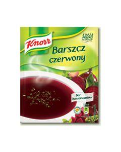Red borscht soup 46g - KNORR