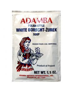 ADAMBA Polish Style White Borsch ZUREK Soup 42g