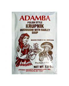 ADAMBA Polish style soup  with mushroom and barley 71g
