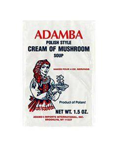 Polish Style Cream of Mushroom Soup 1.5 oz - ADAMBA