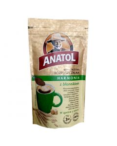 ANATOL Instant Cereal Coffee with Fiber 100g