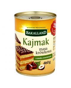 BAKALLAND Fudge Caramel Cream with Hazelnuts Flavor 460g