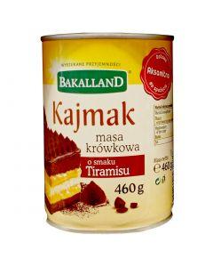 BAKALLAND Fudge Caramel Cream with Tiramisu flavour 460g