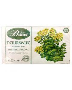 BIOFIX Herbata ziołowa dzurawiec 20 torebek