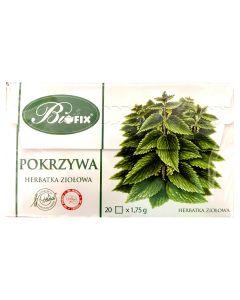 BIOFIX Herbata ziołowa pokrzywa 20 torebek