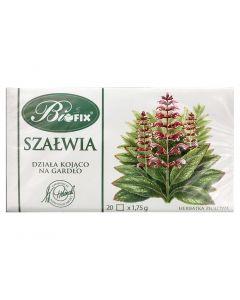 BIOFIX Herbata ziołowa szałwia 20 torebek