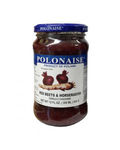POLONAISE Red Beets & Horseradish 340g