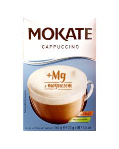 CAFFETTERIA Mokate Cappuccino with Magnesium 160g