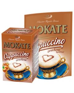 Cappuccino orzechowe w pudelku