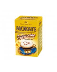 Mokate Cappuccino Waniliowe (pudełko - 10 torebek 15g)