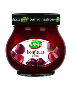 LOWICZ Cherry Preserves 240g