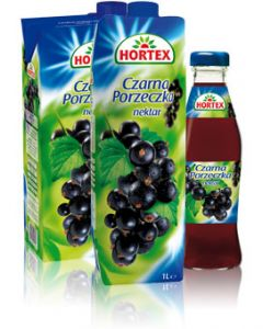 HORTEX Black Currant Nectar 2L