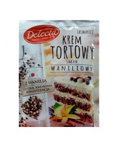 Delecta Krem Do Ciasta o Smaku vaniliowym-100g