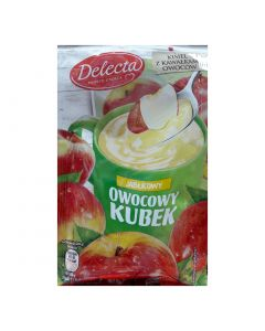 Delecta Fruit cream of apple flavor 30g