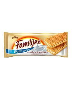 Jutrzenka Familijne Wafle o Smaku  Smietankowym 180 g/6.3 oz
