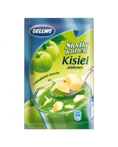 Gellwe Slodki Kubek Kisiel Jablkowy 30g