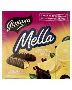 GOPLANA Mella Chocolate Coated Lemon Jelly 190g