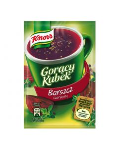 KNORR Red borscht instant soup 17g