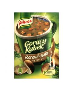 Porcini instant soup with croutons 17g - KNORR