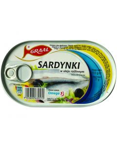 GRAAL Sprats in oil 110g