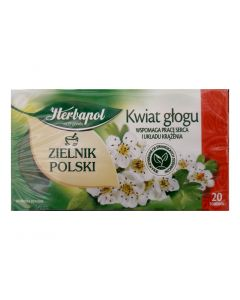 Herbapol Glog Flower Tea 20 bags