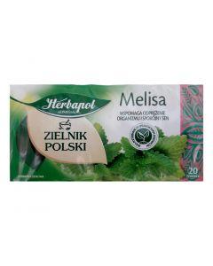 HERBAPOL Lemon Balm Herbal Tea 20 bags