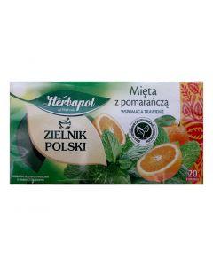 HERBAPOL Mint Orange Tea 20 bags