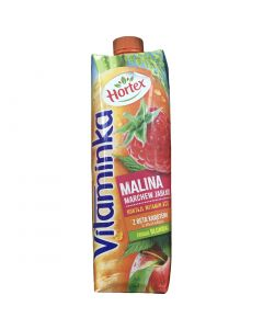 HORTEX Vitaminka Apple Carrot Raspberry Juice1L