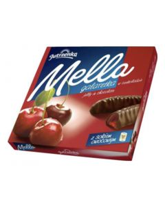 GOPLANA Mella Chocolate Coated Cherry Jelly 190g