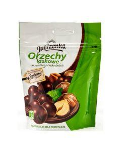 JUTRZENKA Hazelnuts in Milk Chocolate 80g