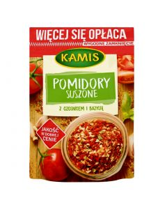 KAMIS Dried Tomato with Garlic and Basil seasoning 50g