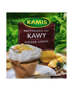 KAMIS Coffee seasoning ginger lemon 20g
