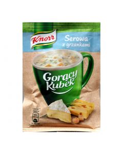 KNORR Cheese Instant Soup with Croutons 22g
