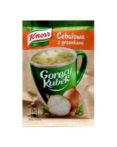 KNORR Onion Instant Soup with Croutons 17g