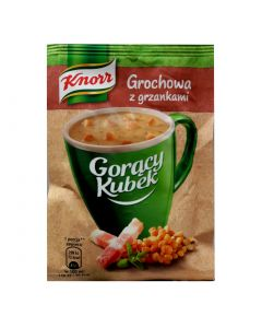 KNORR Pea Instant Soup with Croutons 21g