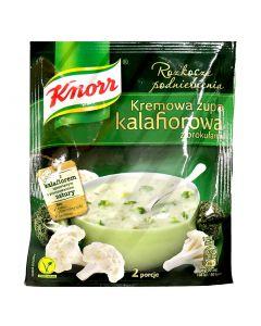 KNORR Cauliflower Cream Soup with Broccoli 50g