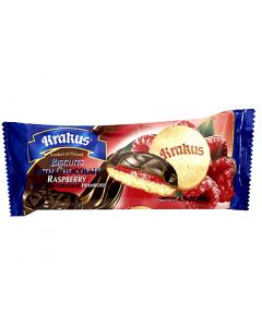 KRAKUS Delicje biscuit with raspberry jelly 135g