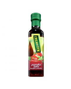 KUJAWSKI Extra Virgin Rapeseed Oil with Hot Pepper, Tomatoes and Basil 250ml