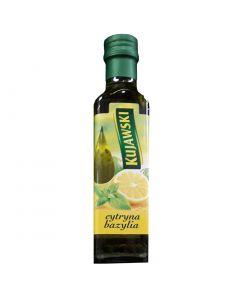 KUJAWSKI Extra Virgin Rapeseed Oil with Lemon and Basil 250ml