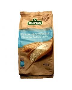 KUPIEC Mazovian coarse grained Pearl Barley Groats 400g