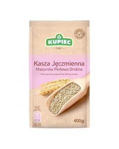 KUPIEC Kasza Mazurska Jeczmienna Perlowa Drobna 400g
