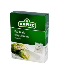 Ryż biały długoziarnisty 400g - KUPIEC