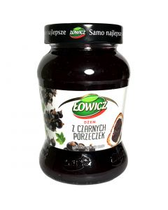 LOWICZ Blackcurrant Jam 450g
